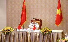 越南人民海軍司令陳青嚴少將。(圖源:人民軍隊報)