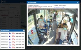 智能監控可發現不戴口罩乘客。(圖源:視頻截圖)