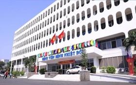 市熱帶病醫院設有400張病床收治新冠病例。(圖源:成山)