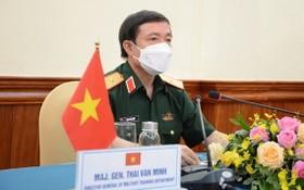 越南人民軍總參謀部軍訓局局長蔡文明少將。(圖源:互聯網)
