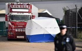 2019年10月23日,英國埃塞克斯郡發生貨車人口走私慘案。(圖源:互聯網)