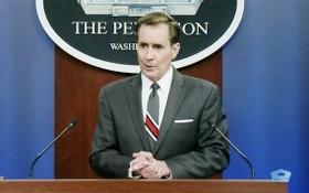 美國防部新聞發言人約翰·柯比。 (圖源: 視頻截圖)