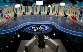 伊朗第三場總統大選辯論現場。(圖源: 路透社)