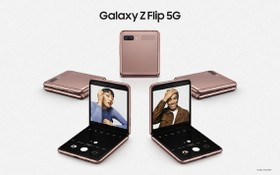 Galaxy Z Flip 5G。(圖源:互聯網)