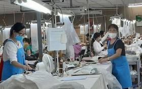 位於舊邑郡的河江成衣有限責任公司是因疫情陷入困境的企業之一。