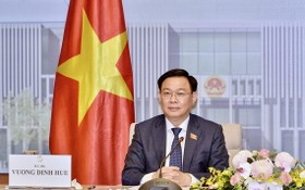 越南國會主席王廷惠。(圖源:VOV)
