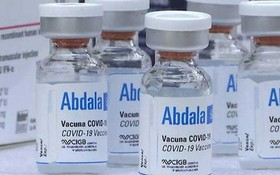 古巴研製的Abdala新冠疫苗。(圖源:Ultimasnoticias)