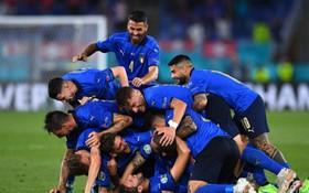 意大利球員慶祝進球。(圖源:互聯網)