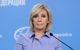 俄羅斯外交部發言人扎哈羅娃。(圖源:俄羅斯外交部)