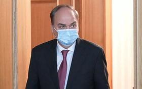 俄羅斯駐美大使安東諾夫。(圖源:俄新社)