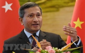 新加坡外交部部長維文·巴拉科瑞斯南。 (圖源:越通社)