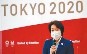 東京奧運組委會主席橋本聖子表示,東京奧運入場觀眾人數的上限定為1萬人。(圖源:路透社)