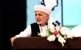阿富汗總統加尼。(圖源:AFP)