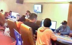 刑事警察力量日前摧毀了第七郡一個大規模網絡賭場。