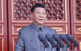 中國共產黨中央總書記、國家主席、中央軍委主席習近平發表重要講話。(圖源:新華社)