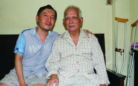 華人革命老前輩李仕明(林濟蘇)與其子李(林)錫雄合照。