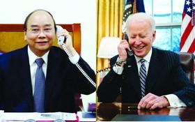 值美國國慶245週年紀念,國家主席阮春福向美國總統喬‧拜登致電祝賀。(示意圖源:互聯網)