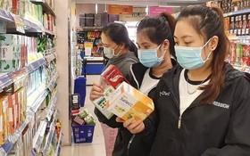 超市有充足貨源滿足顧客需求。