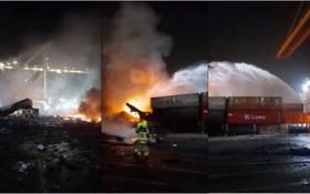 火勢獲得到控制未發現人員傷亡。(圖源:互聯網)