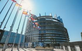 歐洲議會總部大樓。(圖源:新華社)