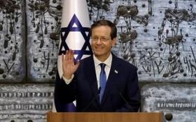 以色列當選總統伊薩克‧赫爾佐格當地時間7日在議會宣誓就職,成為該國第十一任總統。(圖源:互聯網)
