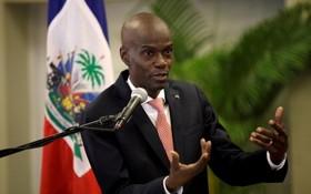 海地總統莫伊茲(資料圖)。