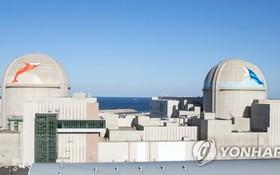 新韓蔚核電站第一、二號機組。(圖源:韓聯社)