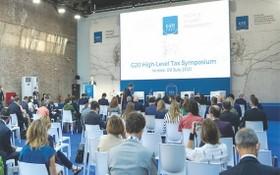 二十國集團財長在威尼斯開幕。(圖源:互聯網)