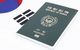圖為韓國護照。(示意圖源:Getty Images)