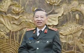 公安部部長蘇霖大將。(圖源:越通社)