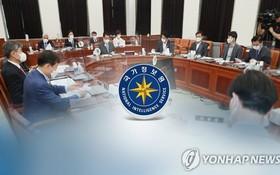 國會情報委員會全會現場。(圖源:韓聯社)