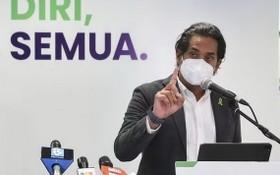 馬來西亞負責疫苗接種工作的科學、工藝和創新部長哈伊里‧賈邁勒丁。(圖源:互聯網)