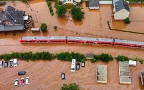 德國萊茵蘭‧普法爾茨發生嚴重洪災。(圖源:互聯網)