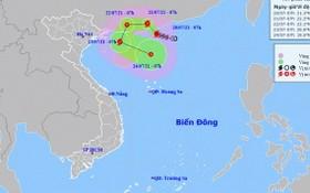 3號颱風的移動方向。(圖源:國家水文氣象預報中心)