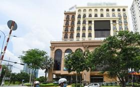 銀行出售作為抵押資產的大廈。