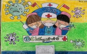 上百學生參加防疫繪畫比賽