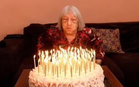 百歲奧運冠軍艾格尼絲‧凱萊蒂。(圖源:互聯網)