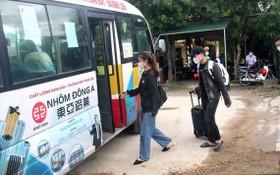 特別列車運送河靖省公民回鄉
