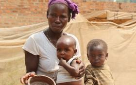 中非共和國有250萬人面臨飢餓。(圖源:聯合國)