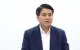 河內市人委會原主席阮德鍾。(圖源:何仁)