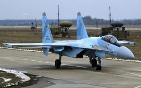 俄羅斯東部戰區的蘇-35戰機。(圖源:俄羅斯國防部)