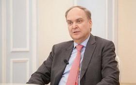 俄羅斯駐美國大使阿納托利‧安東諾夫。(圖源:新華社)