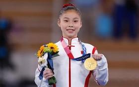 中國選手獲女子平衡木項目金牌