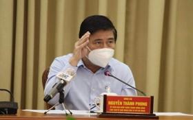 市人委會主席阮成鋒。(圖源:自忠)
