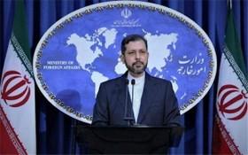 伊朗外交部發言人哈提卜扎德。(圖源:互聯網)