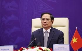 政府總理范明政出席聯合國安理會高級開放辯論會。(圖源:越通社)