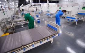 第14 號野戰醫院即將完工。(圖源:TTO)