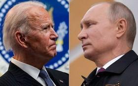 """美國政府當地時間20日以俄羅斯反對派人士納瓦利內事件和""""北溪-2""""天然氣管道項目為由,宣佈對俄羅斯多個實體和個人實施制裁。圖為美國總統拜登(左)和俄羅斯總統普京。(圖源:互聯網)"""