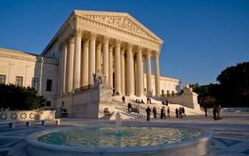 美國最高法院大樓一景。(圖源:互聯網)