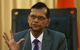 斯里蘭卡外長加米尼‧ 拉克什曼‧佩里斯。(圖源:路透社)